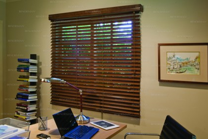 St Louis wood blinds