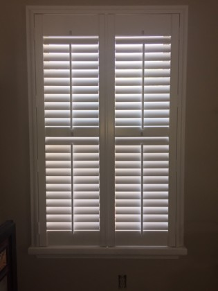 Plantation Shutters With Sill Cap In Imperial St Louis
