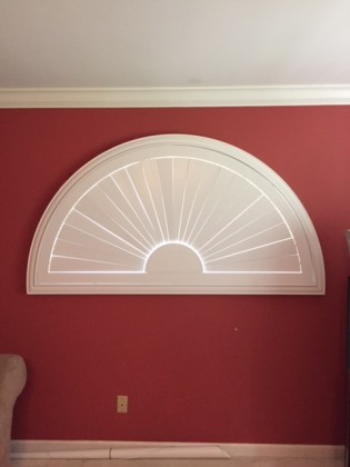 Arch Shutter In Lafayette St Louis Blinds Amp Shutters