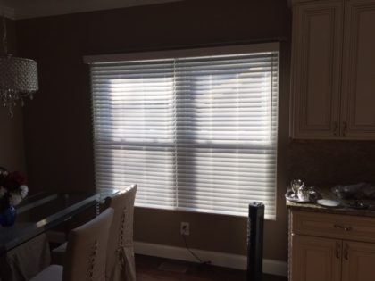 Two Inch Faux Wood Blinds In Chesterfield St Louis